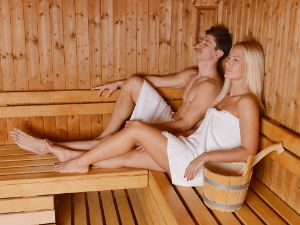Der Klassiker bei Kälte: Sauna