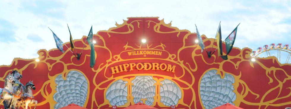 Das Hippodrom von außen
