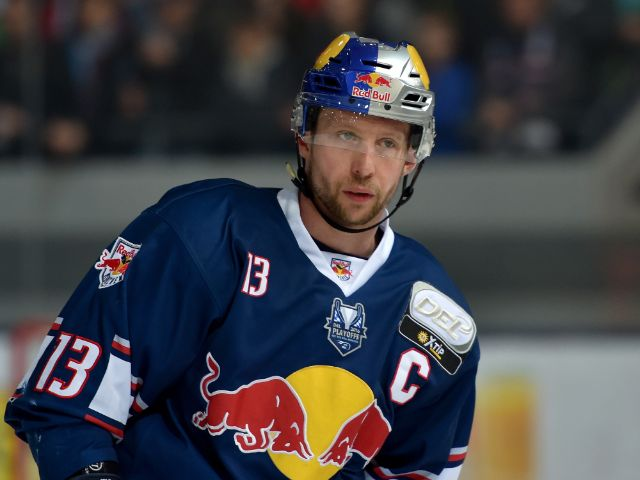 EHC-Kapitän Michael Wolf., Foto: GEPA Pictures