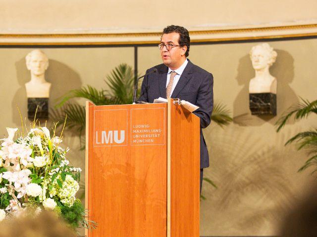 Verleihung des Geschwister-Scholl-Preises 2017 an Hisham Matar, Foto: Yves Krier