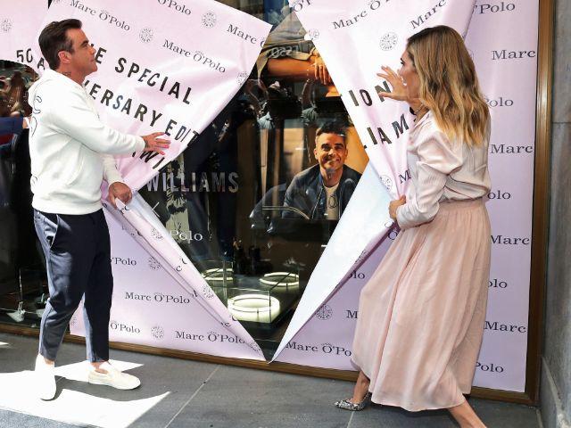 Robbie Williams präsentiert seine Modekollektion in München, Foto: Gisela Schober/Getty Images for Marc O'Polo