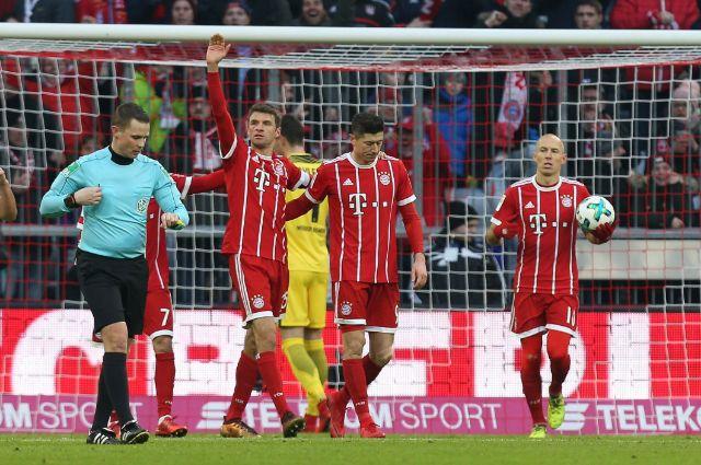 Thomas Müller feiert seinen Treffer im Spiel gegen Bremen., Foto: picture alliance / AA