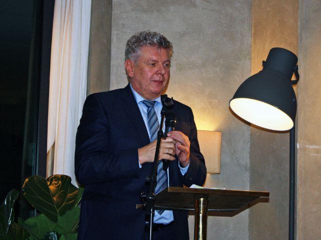Jahresessen der Innenstadtwirte: Oberbürgermeister Dieter Reiter, Foto: muenchen.de/Leonie Liebich