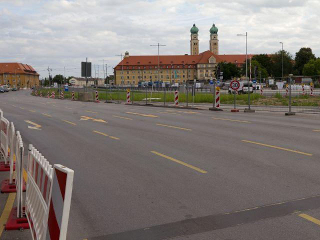 Luise-Kiesselbach-Platz, Foto: Katy Spichal
