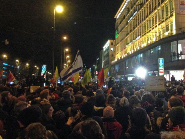 Nopegida-Demo am Stachus, Foto: muenchen.de