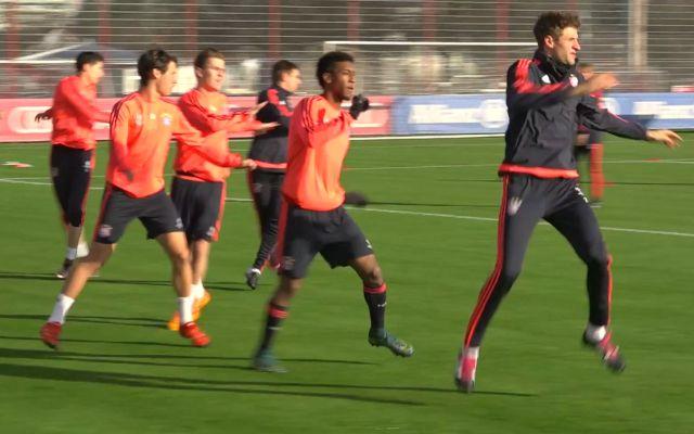 Training des FC Bayern München, Foto: Eric Dreyerler