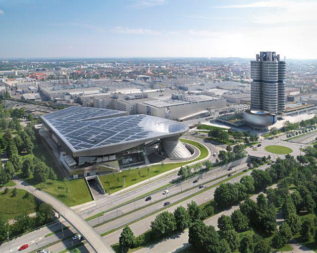 BMW Welt Aussenansicht, Foto: BMW Welt