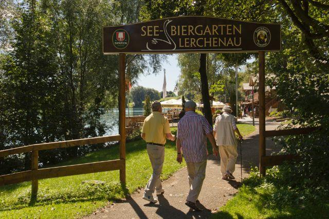 Biergarten am Lerchenauer See, Foto: Katy Spichal