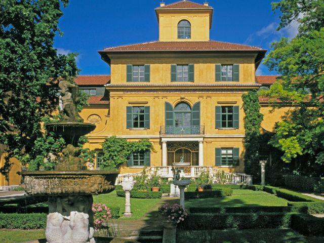 Lenbachhaus Alte Villa, Foto: Städt. Galerie im Lenbachhaus und Kunstbau