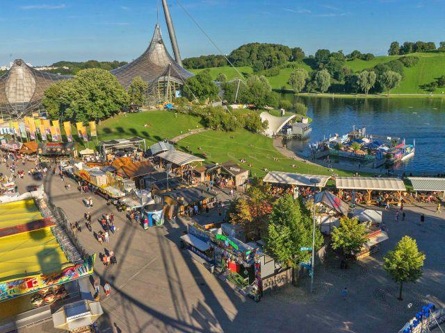 Impark Sommerfestival vom Riesenrad, Foto: muenchen.de/Lukas Fleischmann