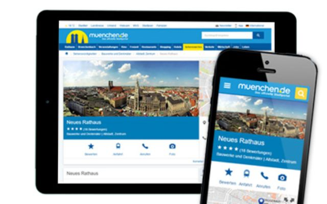 Responsive Design, Foto: muenchen.de