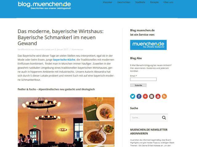 Der Blog von muenchen.de