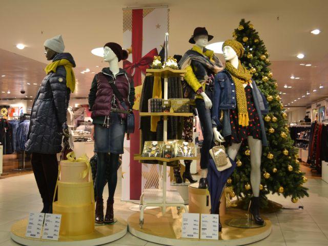 Winterkleidung bei Karstadt Bahnhofplatz, Foto: Karstadt Bahnhofplatz