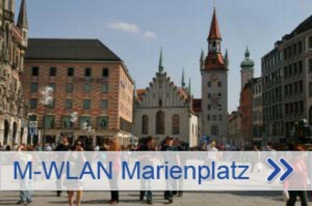 M-WLAN am Marienplatz