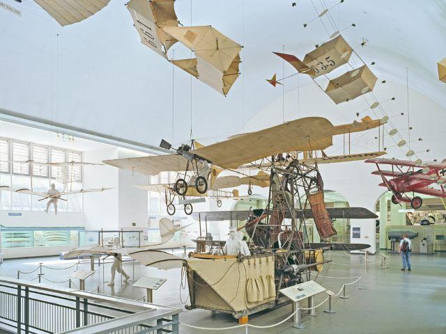 Ausstellung zur alten Luftfahrt im Deutschen Museum, Foto: Deutsches Museum