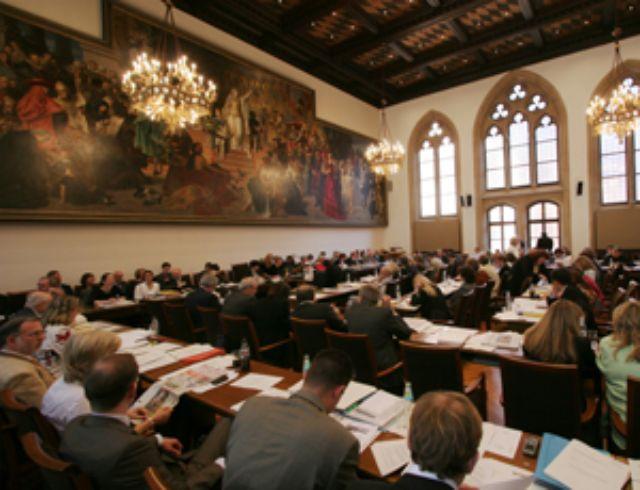 Neues Rathaus München Großer Sitzungssaal, Foto: Nagy / Presseamt München