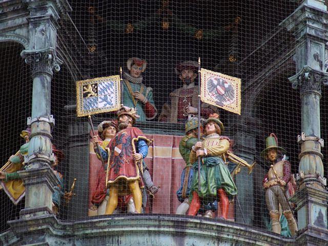 Glockenspiel am Marienplatz, Foto: Shutterstock