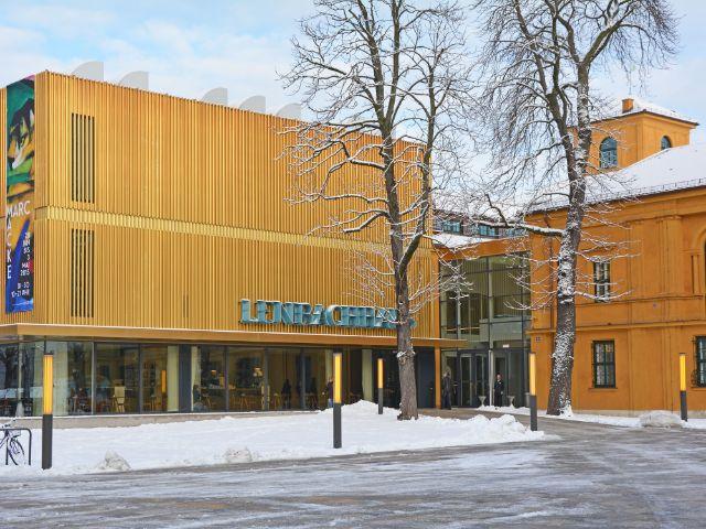 Lenbachhaus im Winter, Foto: muenchen.de/Michael Hofmann
