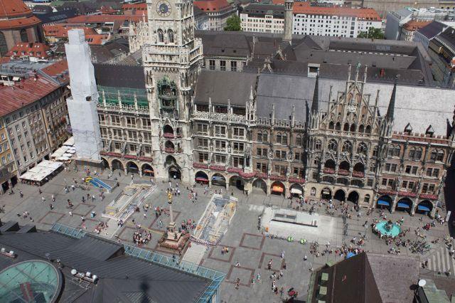 St Platz München marienplatz in münchen das offizielle stadtportal muenchen de