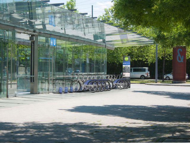 So soll eine MVG-Radstation aussehen, Foto: SWM/MVG
