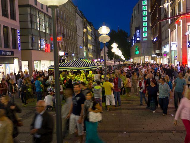 Die Kaufingerstraße in der Münchner Altstadt, Foto: Katy Spichal