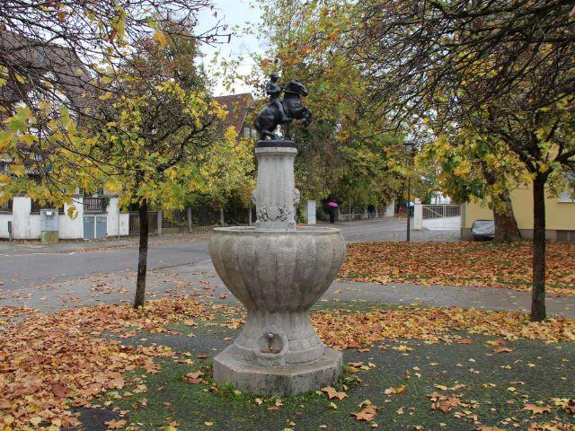 Bismarckbrunnen am Wensauer Platz, Foto: Christian Brunner