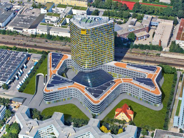ADAC Zentrale in München Sendling-Westpark, Foto: ADAC