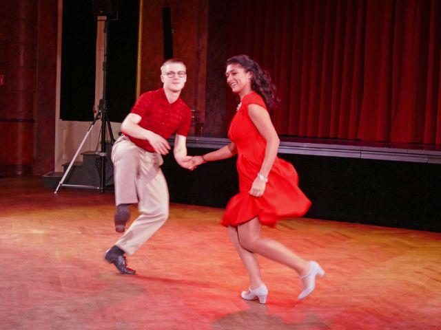 Ballsaion 2017 im Deutschen Theater: Vintage Club Tanzpaar, Foto: muenchen.de/Leonie Liebich