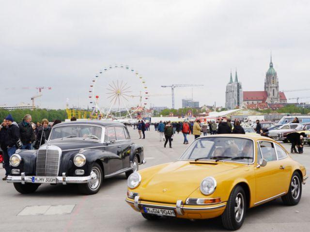 Oldtimer beiFrühlingsfest, Foto: muenchen.de/ Dan Vauelle