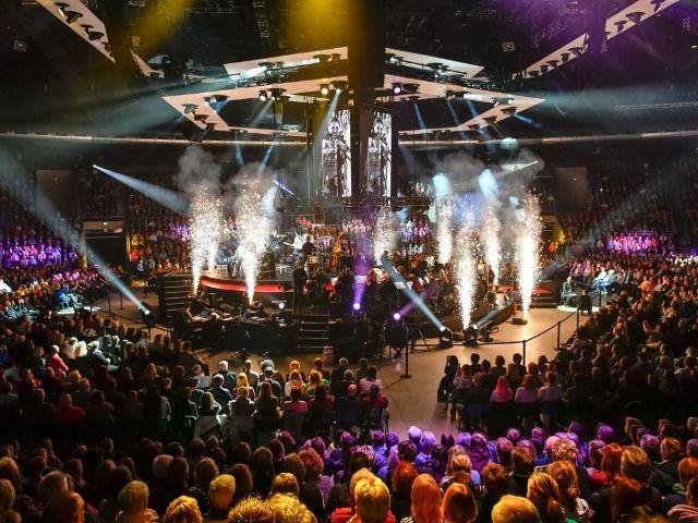 David Garrett auf Explosive-Tour: Bühne, Foto: Rüdiger Knuth