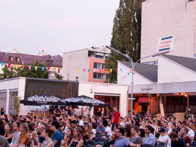 Kino Open Air am Mars Markt, Foto: Gral GmbH