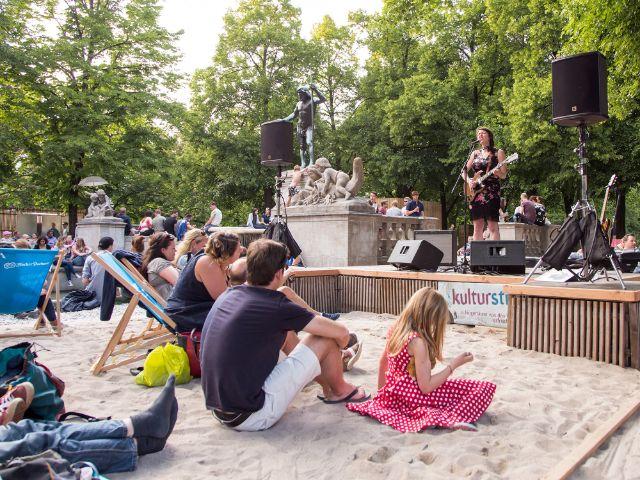 Kulturstrand 2018, Foto: muenchen.de / Mónica Garduño