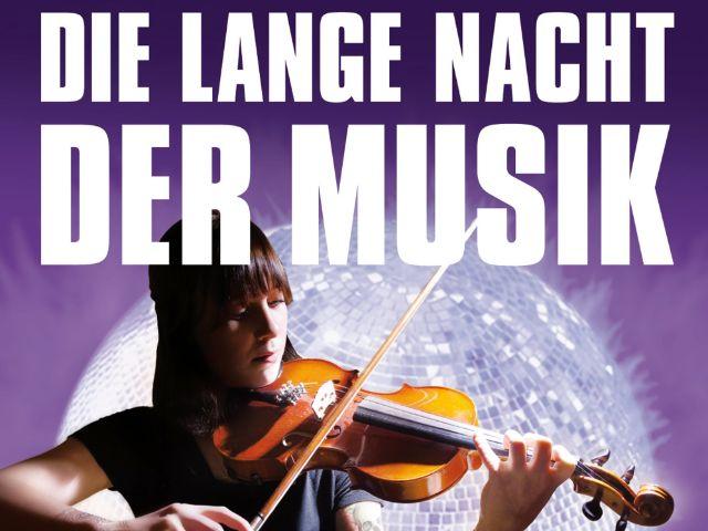 Plakatmotiv Lange Nacht der Musik 2018, Foto: Münchner Kultur GmbH
