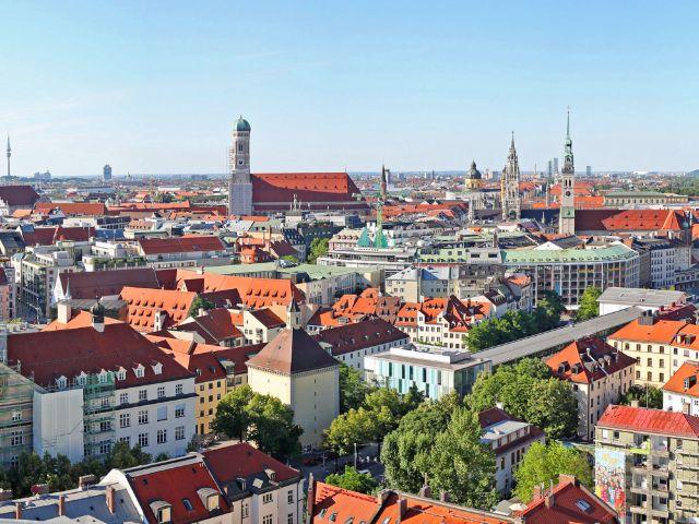 Münchner Altstadt, Foto: Michael Nagy/Presseamt