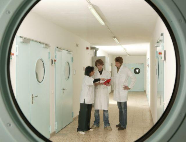 Labortrakt am Wissenschaftszentrum Straubing, TU München, Foto: Kurt Fuchs