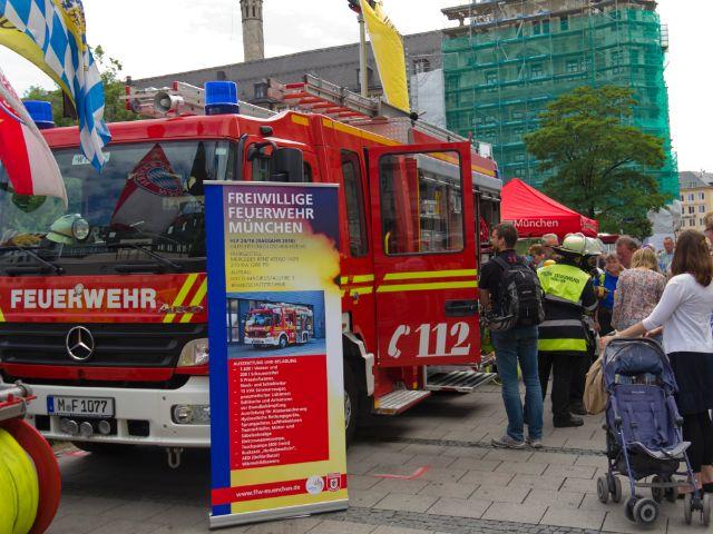 Aktionstag Da sein für München 2014, Foto: Katy Spichal