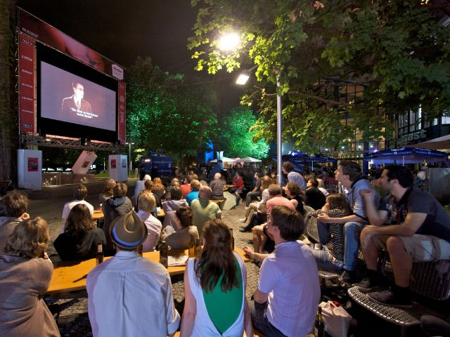 Filmfest München - Open Air Kino, Foto: Filmfest München