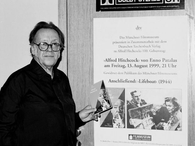 Der ehemalige Leiter des Filmmuseums Enno Patalas., Foto: Filmmuseum München