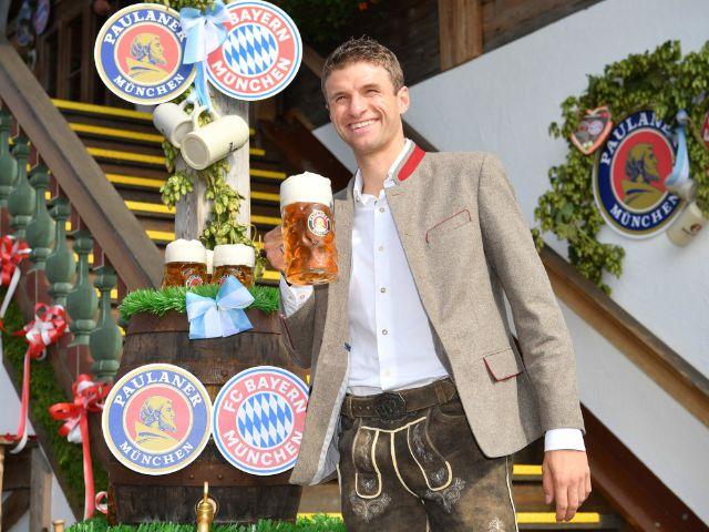 Der FC Bayern auf der Wiesn 2017, Foto: Paulaner