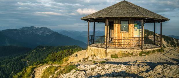 Herzogstand in den Bayerischen Voralpen, Foto: Tourist Information Walchensee