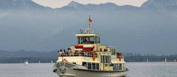 Chiemsee Schifffahrt, Foto: Shutterstock