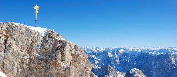 Zugspitze höchster Berg Deutschlands, Foto: Shutterstock