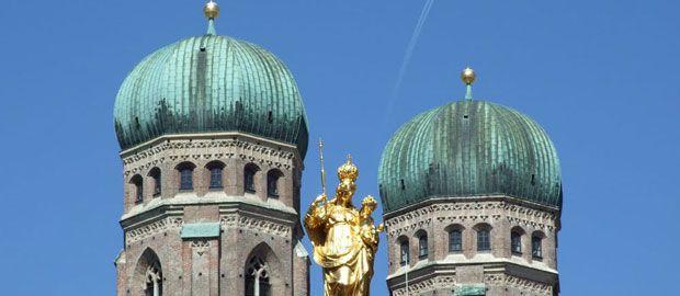Frauenkirche Türme Mariensäule , Foto: Michael Hofmann