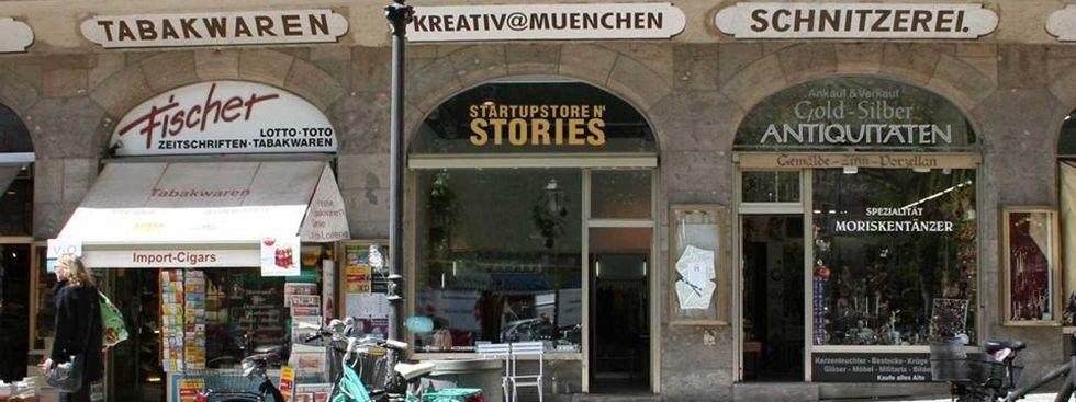 Ruffinihaus mit Pop-Up Store, Foto: Startupstore n' Stories