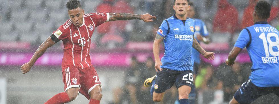 FC Bayern gewinnt erstes Bundesliga-Spiel gegen Bayer 04 Leverkusen, Foto: dpa