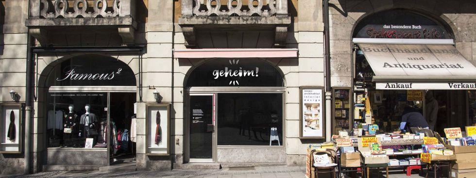 """Pop-Up Store """"GEHEIM"""" im Ruffinihaus eröffnet am 22.4., Foto: Pop-Up Store """"GEHEIM"""""""