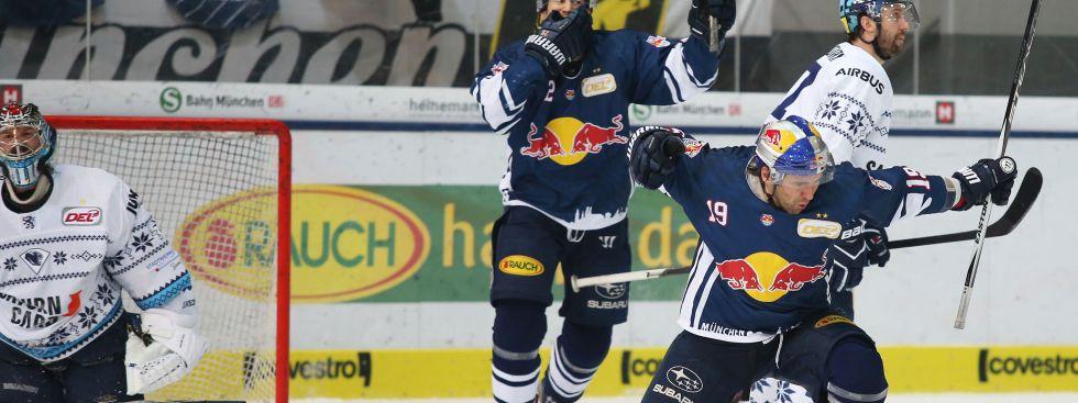 EHC Red Bull München gegen ERC Ingolstadt, Foto: GEPA Pictures
