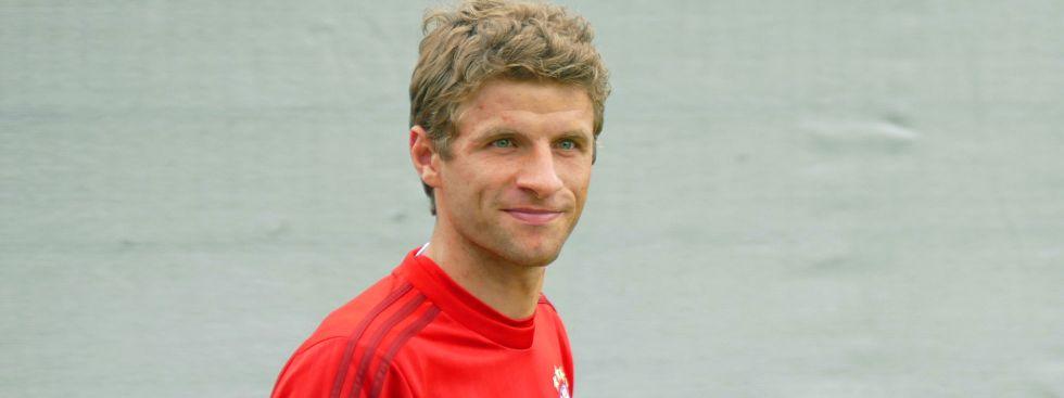 Thomas Müller vom FC Bayern München, Foto: muenchen.de/Mark Read