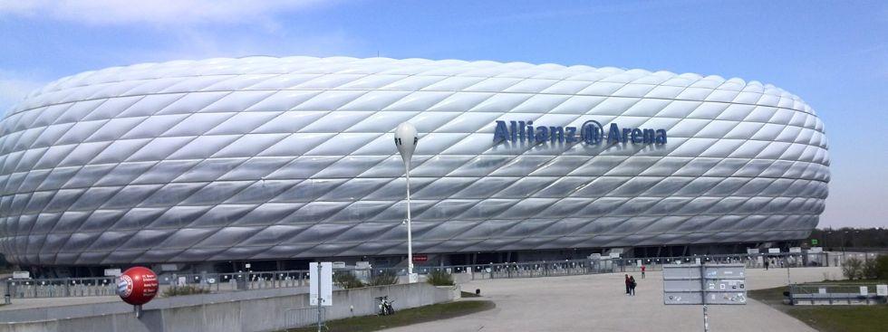 Umbau der Allianz Arena in der Sommerpause München - Das offizielle ...