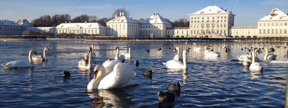 Schloss Nymphenburg im Winter, Foto: Melina Pfeffer